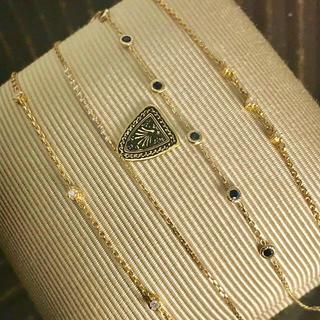 アガット(agete)のagete アガット ダイヤブレスレット K18(ブレスレット/バングル)