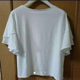 ジーユー(GU)のフレアTシャツ(Tシャツ(半袖/袖なし))