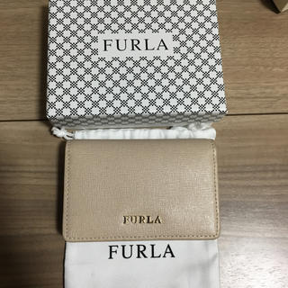 1f8df0e658f5 Furla - 新品 フルラ 名刺入れ カードケース サッビアグレーの通販 by ...