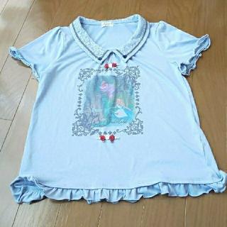 アクシーズファム(axes femme)の襟付きアリスカットソー(カットソー(半袖/袖なし))