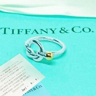ティファニー(Tiffany & Co.)の未使用 ティファニー ラブノットリング9号(リング(指輪))