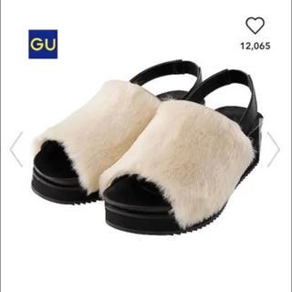 ジーユー(GU)のGU / ファーサンダル(サンダル)