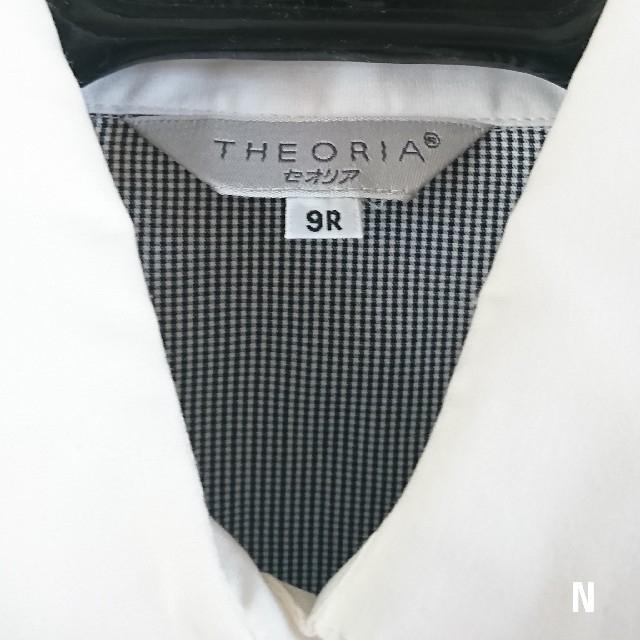 しまむら(シマムラ)のTHEORIA ギンガムチェック長袖ブラウス シャツ しまむら Mサイズ レディースのトップス(シャツ/ブラウス(長袖/七分))の商品写真