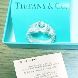 ティファニー(Tiffany & Co.)の未使用 ティファニー パロマピカソトリプルラビングハートリング8号(リング(指輪))