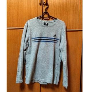 アディダス(adidas)のadidasロングTシャツ 綿100%(Tシャツ/カットソー(七分/長袖))