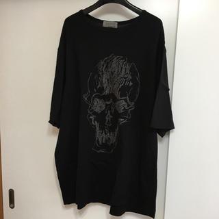 ヨウジヤマモト(Yohji Yamamoto)の17SS ヨウジヤマモト プールオム  半袖カットソー(Tシャツ/カットソー(半袖/袖なし))