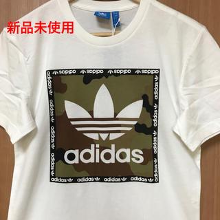 アディダス(adidas)の【新品未使用】adidas originals ロゴTシャツ(Tシャツ/カットソー(半袖/袖なし))