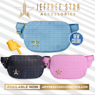 Jeffree Star BLACK CROSS BODY/ボディーバッグ