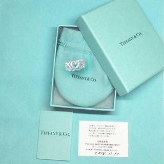 ティファニー(Tiffany & Co.)の未使用 ティファニー パロマピカソトリプルラビングハートリング7号(リング(指輪))