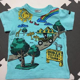 DOUBLE.B - ミキハウス ダブルB リゾートプリント半袖Tシャツ 90