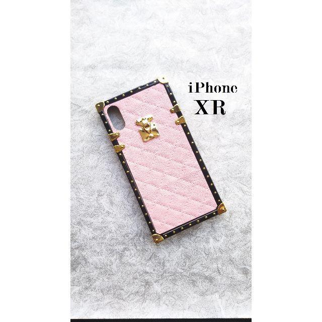 iphonexr ケース うさぎ | アイフォン XR トランク 高貴 エレガント キルティング調 高級感の通販 by らん|ラクマ