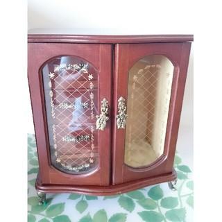 日本製   アクセサリーボックス   木製