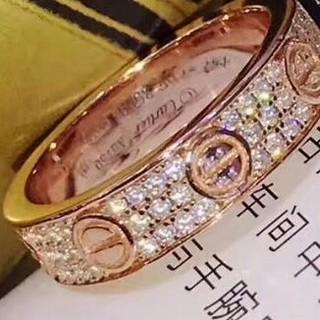 カルティエ(Cartier)のカルティエ C2 ダイヤ リング 51号(リング(指輪))