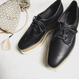 チャールズアンドキース(Charles and Keith)のチャールズアンドキース プラットフォームシューズ(ローファー/革靴)