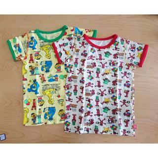 ブーフーウー(BOOFOOWOO)の☆セサミーストリート☆Tシャツ2枚セット 130(Tシャツ/カットソー)