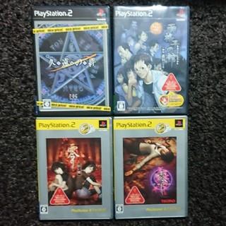 PS2 零シリーズ×2&雨格子の館&久遠の絆(家庭用ゲームソフト)