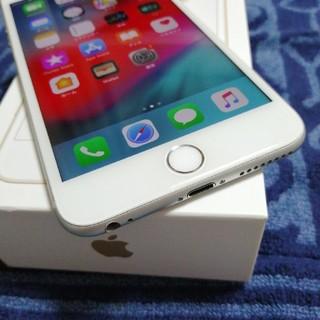 アイフォーン(iPhone)のジャンク iphone6プラス64GB シルバー(スマートフォン本体)