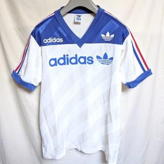 アディダス(adidas)の90'sデサント製adidasゲームシャツ(Tシャツ/カットソー(半袖/袖なし))