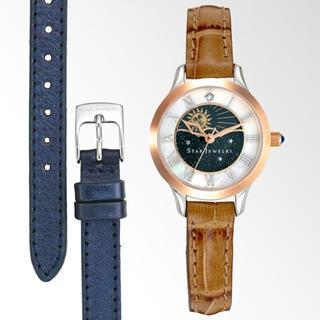 スタージュエリー(STAR JEWELRY)のスタージュエリー 腕時計 2way ダブル シングルストラップ 新品 未使用(腕時計)