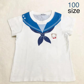 familiar - familiar だまし絵 Tシャツ 100