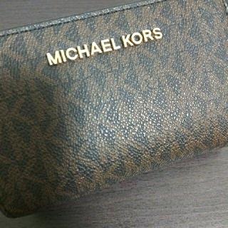 マイケルコース(Michael Kors)のMICHAELKORS    マイケルコース折り財布    人気財布(財布)