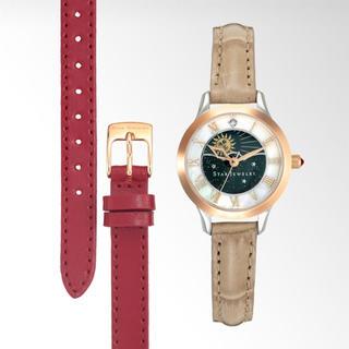 スタージュエリー(STAR JEWELRY)のスタージュエリー 時計 2way ダブルループ 新品 未使用 シングルストラップ(腕時計)
