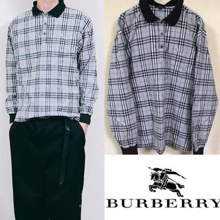 バーバリー(BURBERRY)の90's Burberry バーバリー  ノバチェックシャツ ポロシャツ(シャツ)
