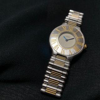 カルティエ(Cartier)のカルティエ マスト21 Cartier 腕時計 レディース ウォッチ(腕時計)