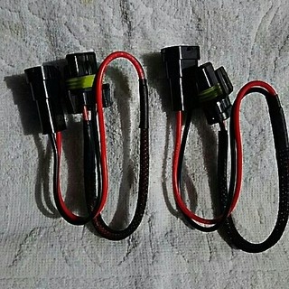 HID  バラスト  電源カプラー  配線