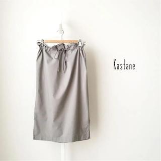 Kastane - kastane スポーティミドルスカート