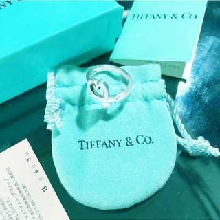 ティファニー(Tiffany & Co.)の未使用 ティファニー ラビングハートリング11号(リング(指輪))