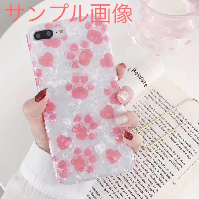 アイフォンXR iPhoneXRソフトケース☆猫☆かわいい肉球とハート☆送料無料の通販 by ロゴ's shop|ラクマ