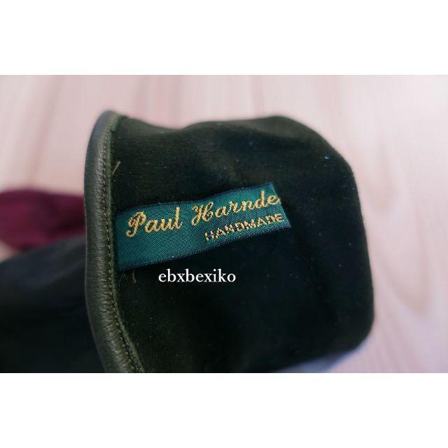 Paul Harnden(ポールハーデン)のPaul Harnden Shoemakers レザーグローブ  レディースのファッション小物(手袋)の商品写真