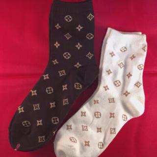 ルイヴィトン(LOUIS VUITTON)の人気の靴下❗️2足セット❗️(ソックス)