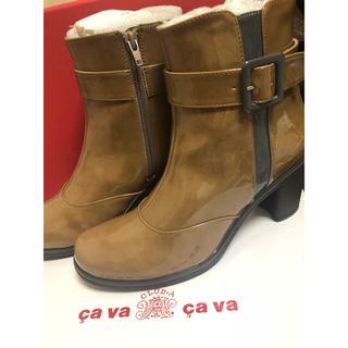 サヴァサヴァ(cavacava)のサヴァサヴァ ショート レインブーツ LLサイズ(レインブーツ/長靴)