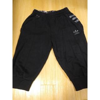 アディダス(adidas)のアディダス 半ズボン 黒 M メンズ(ショートパンツ)