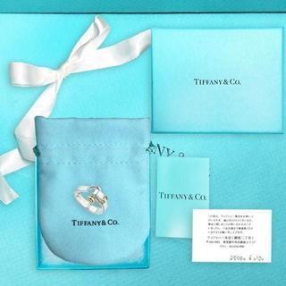 ティファニー(Tiffany & Co.)の未使用 ティファニー  フック&アイ リング9号(リング(指輪))
