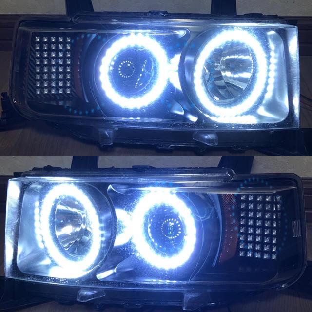 NCP bB ワンオフ ヘッドライト 自動車/バイクの自動車(車種別パーツ)の商品写真