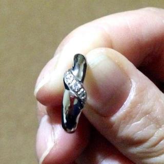 pt900 プラチナ ダイヤ デザインリング(リング(指輪))