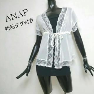 アナップ(ANAP)のANAP*レースブラウス(シャツ/ブラウス(半袖/袖なし))