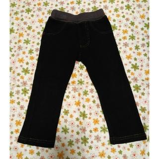 シマムラ(しまむら)のベビー パンツ しまむら のびっぱ 80 ブラック(パンツ)