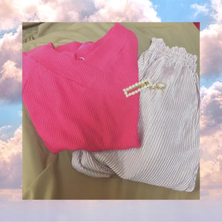 ワンウェイ(one*way)のone way リボンTシャツ(Tシャツ/カットソー(半袖/袖なし))