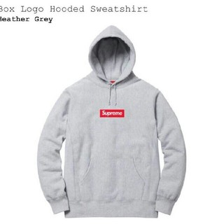 Supreme - Supreme Box Logo Hooded Sweatshirt 16aw