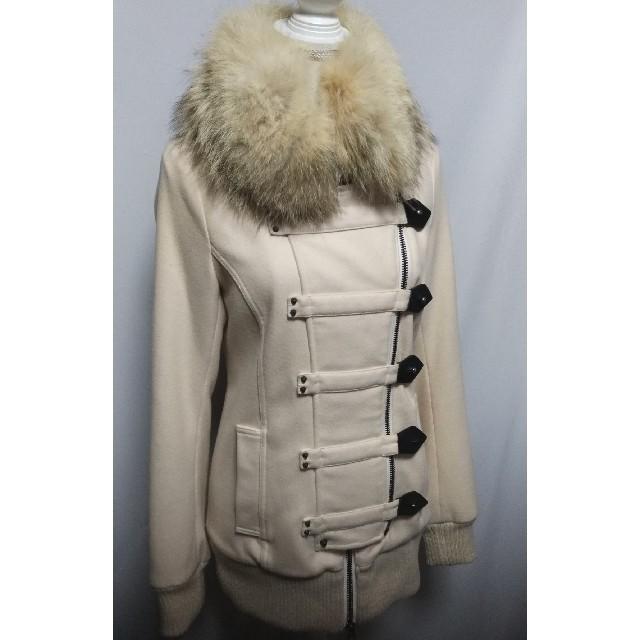 moussy(マウジー)のマウジー ファー付きコート レディースのジャケット/アウター(毛皮/ファーコート)の商品写真