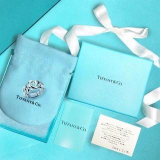 ティファニー(Tiffany & Co.)の未使用 ティファニー パロマピカソトリプルラビングハートリング10号(リング(指輪))