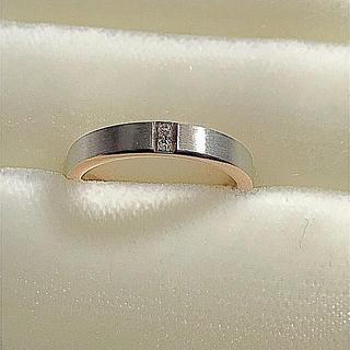 ニワカ(俄)の俄 N.Y. NIWAKA 「ハーモニー」マリッジリング 9号(リング(指輪))