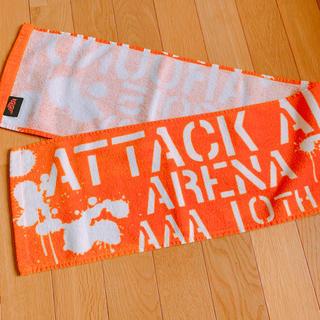 AAA - AAA 10thタオル 橙