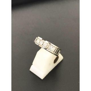 ティファニー(Tiffany & Co.)のティファニー アトラス ダイヤ3P ホワイトゴールド ♡定価税込30万程♡(リング(指輪))