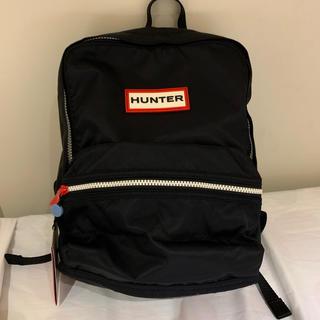HUNTER - 【新品未使用タグ付き】HUNTER ハンター キッズ 大人気 リュック 黒