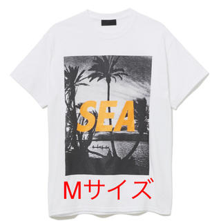 ロンハーマン(Ron Herman)のWIND AND SEA PALM TREE PHOTO Tシャツ Mサイズ(Tシャツ/カットソー(半袖/袖なし))